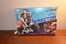 Vintage 1984 Erector Set Ideal Robo Force Max Steele Robot In Box Untested