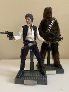 Hot Toys MMS 263 Han Solo & Chewbacca Set