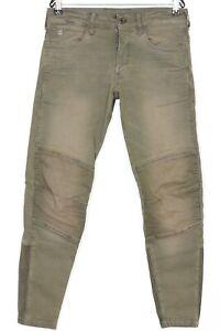 G-STAR MOTAC DDC 3D SLIM Stretch Canvas Pants Trousers Men Size W30 L32 DZ1257