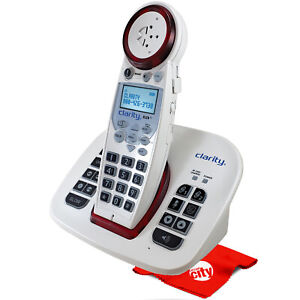 Clarity XLC8 Dect 6.0 Moderate Hearing Loss Extra Loud Amplified Cordless Phone