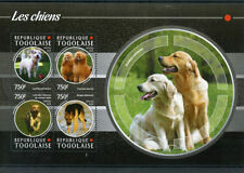 Dogs Togolese Sheet Postal Stamps