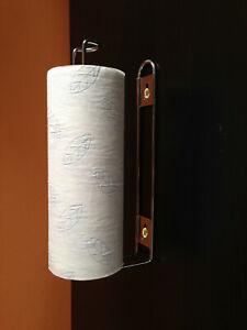 Wall Mounted Kitchen Roll Holder Toilet Roll Holder Tissue Paper Under Shelf