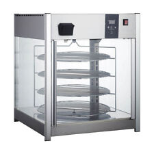Adcraft Hdrp 158 25 Full Service Countertop Pizza Display Warmer 4 Shelves