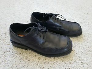 KENNETH COLE Unlisted New York Mens Size 11.5 Black Square Toe Dress Shoes