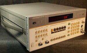 AWESOME HP AGILENT KEYSIGHT 8901B MODULATION ANALYZER