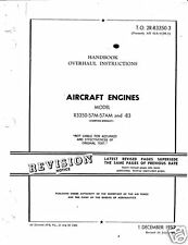 Wright R-3350 Cyclone 18 Duplex Overhaul Manual period archive B-29 Engine