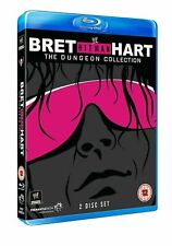 "The WWE - Bret ""Hit Man"" Hart - Dungeon Collection (Blu-ray, 2013, 2-Disc Set)"