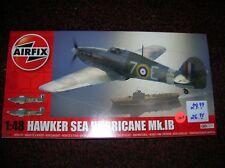 """AIRFIX # A05134 """" HAWKER SEA HURRICANE MK.1B   """"  1/48  LIST $ 29.99 LOT # 13613"""