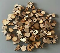 Wooden MDF Shapes Crafts Key Scrapbooking Embellishments Decoration Card Making