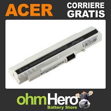 Batteria POTENZIATA 5200mAh Acer Aspire One 531, 571, A110, A150, D150, D250,