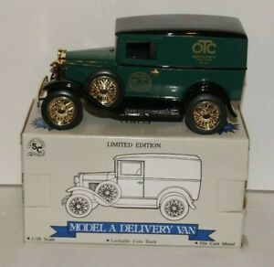 SpecCast Die Cast Metal Ford Model A Delivery Van - OTC 75th Anniversary Edition