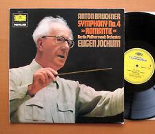 DG Bruckner SINFONÍA Nº 4 2535 111 romántico Eugen Jochum Berlin Phil 1967 casi como nuevo/ex