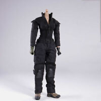 "1/6 Female Black Tactical Combat Uniform Clothes Fit 12"" Action Figure Body Toys"