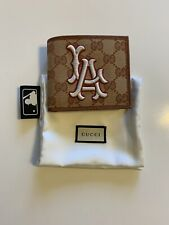 Gucci LA Angels GG Supreme Billfold Wallet Mens