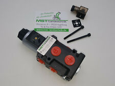 Magnetventil 6/2-Wegeventil NG06 12V Leckölanschluss inkl. Stecker & Schrauben