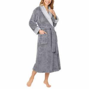 NWT Carole Hochman Luxuriously Plush Textured Wrap Robe - Choose Color/Size | C4