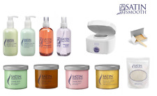 Satin Smooth Wax Heater, Waxes, Lotions & Bikini Waxing Accessories