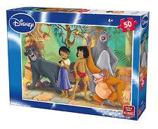 Childrens 50 Piece Disney Jigsaw Puzzle - The Jungle Book Mowgli Baloo 05316A