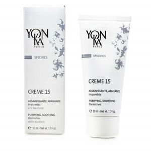 Yonka Specifics Creme 15 With Burdock - Purifying, Soothing (For Blemishes) 50ml