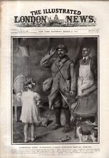 1916 London News March 4 - Titanic Memorial;Eskimo and Alaskan dogs at the front