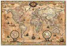 "Jigsaw Puzzles 1000 Pieces ""Antique World Map"" / Educa"