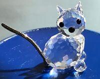 ❤️Swarovski Crystal ** MINI CAT VAR. 2 ** 7659031000 / 010011 Retired and Rare❤️
