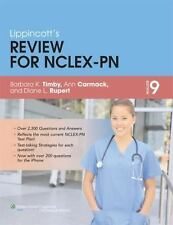 Lippincott's Review for NCLEX-PN by Ann Carmack, Barbara Kuhn Timby and Diana L.