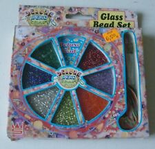 Boxed Glass Bead Kit complete with threads, instructions etc.