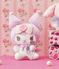 New! FuRyu My Melody Kuromi Happiness Girl Mascot Plush 13cm