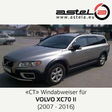 """""""CT"""" Windabweiser (window visors) 3M-Band für VOLVO XC70 II (2007 - 2016)"""