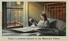 # M1822     CHILD IN BED    POSTCARD,