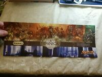 "MTG Magic The Gathering Ravnica Block What Guild Are You? Quiz 12""x5"" Promo NEW"