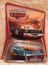 MARIO ANDRETTI Disney Pixar Cars 1:55 Die Cast Nascar Race World of WoC Cute NEW