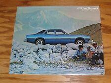 Original 1977 Ford Maverick Sales Brochure 77