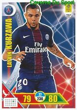 257 LAYVIN KURZAWA PARIS SAINT-GERMAIN PSG CARTE CARD ADRENALYN 2018 PANINI