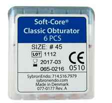 SYBRON ENDO SOFT-CORE CLASSIC OBTURATOR 6/Pkg #45