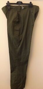 British Army Green Lightweight Trousers Ideal Gardening, outdoor work VGC