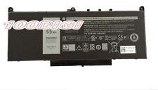 7.6V 55Wh J60J5 Battery For Dell Latitude E7270 E7470 MC34Y NJJ2H 242WD
