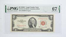 1953-C $2 FR#1512 (AA Block) Red Seal Graded PMG - 67 EPQ Legal Tender *789