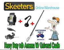 9db Spring Base Mobile Phone Antenna W/ Universal Patch Cradle - iPhone BLACK