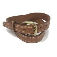 Gould & Goodrich 190 - 36 Chestnut Brown Reinforced Leather Shooter's Men's Belt