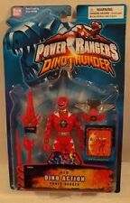 "Power Rangers Dino Thunder - 5"" Red Dino Action Ranger - Weapons Form Megazord"