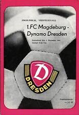 FDGB-Pokal 83/84 Dynamo Dresden - 1. FC Magdeburg, 03.12.1983