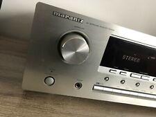 Marantz SR4400 6.1 AV Surround Receiver Silver with Manual.
