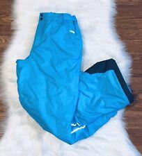 Columbia Bugaboo Omni Heat Ski Snow Pants Size L 14/16 Kid Omnitech Outgrow Blue