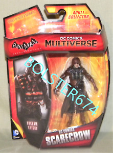 """SCARECROW From BATMAN ARKHAM KNIGHT DC Multiverse 3.75"""" Action Figure 2014"""