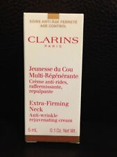 Clarins Extra-Firming Neck Anti-wrinkle Rejuvenating Cream 5ml Sample Size New
