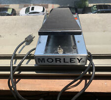 1970s MORLEY POWER WAH pedal PWO Series Works Great Guitar And Bass Electric
