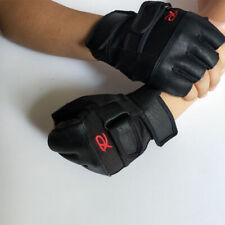 Fitness Handschuhe Leder Bodybuilding Gewichttraining Trainingshandschuh Fahrrad