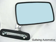 BMW 2002 1600 320i 323i STAINLESS FLAG mirror RIGHT NEW